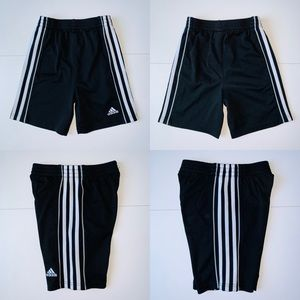 Adidas | athletic shorts | size 4T | black/white.